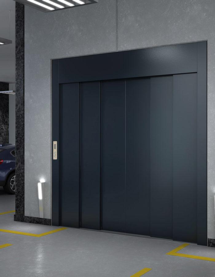 6-Panel-Central-Opening-Door